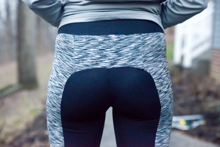 nae yoga pants butt